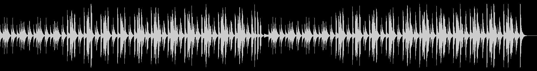 ピタゴラスイッチ風リコーダー使用BGMの未再生の波形