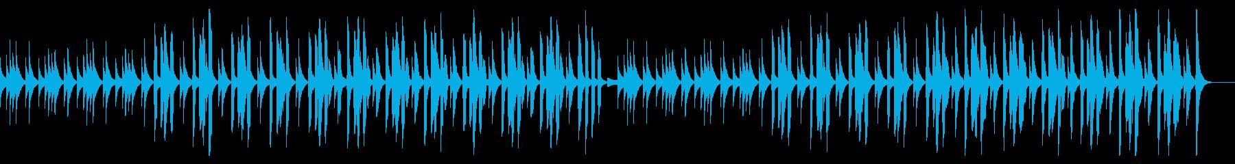 ピタゴラスイッチ風リコーダー使用BGMの再生済みの波形