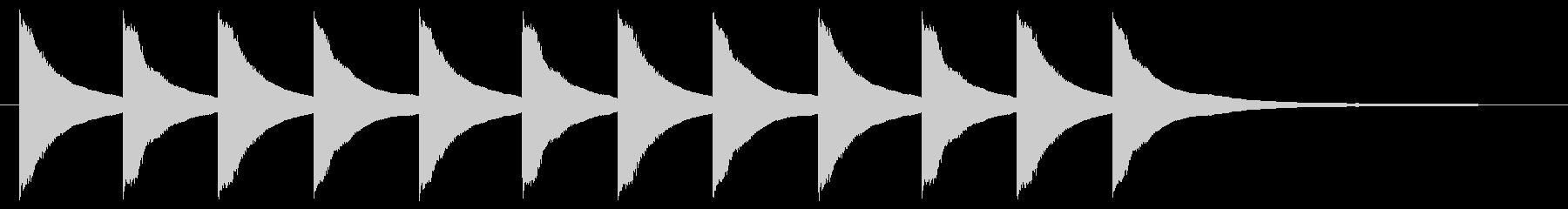 教会の鐘7、小、G4;シングルスモ...の未再生の波形