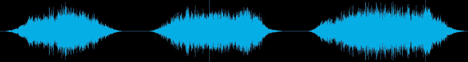 電力装置 チャージ09の再生済みの波形
