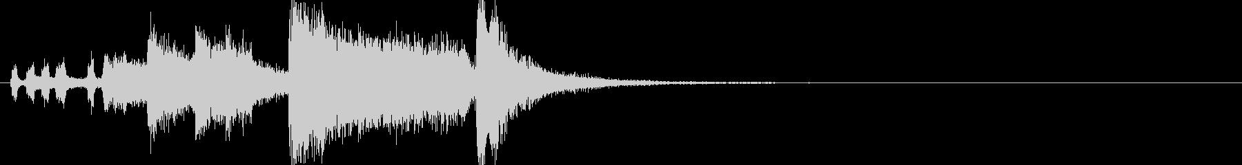 粘る金管ファンファーレ~Dメジャーの未再生の波形