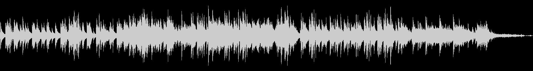 結婚式に切ない雰囲気のピアノソロバラードの未再生の波形