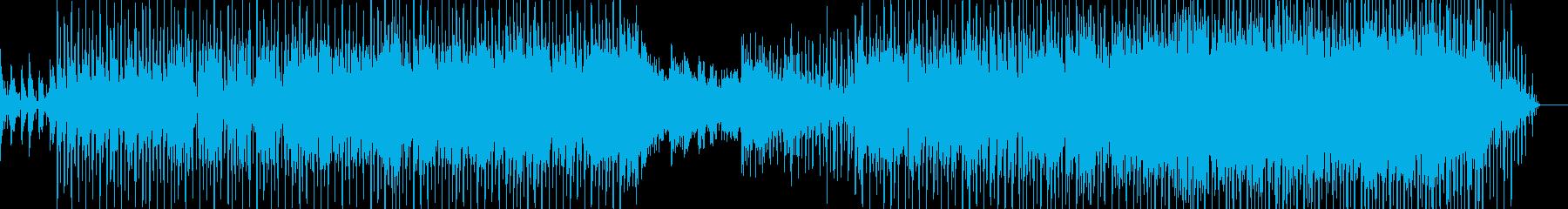 レトロダンス風なピアノインストの再生済みの波形