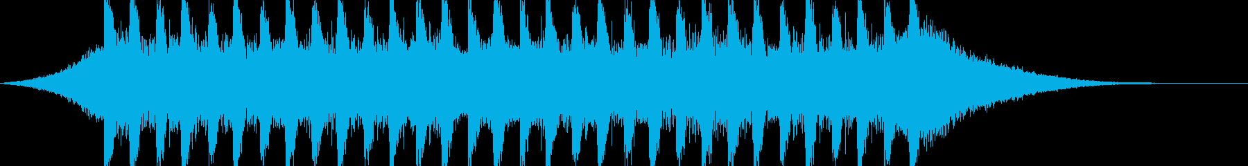 企業VP系17、爽やかギター4つ打ち2cの再生済みの波形