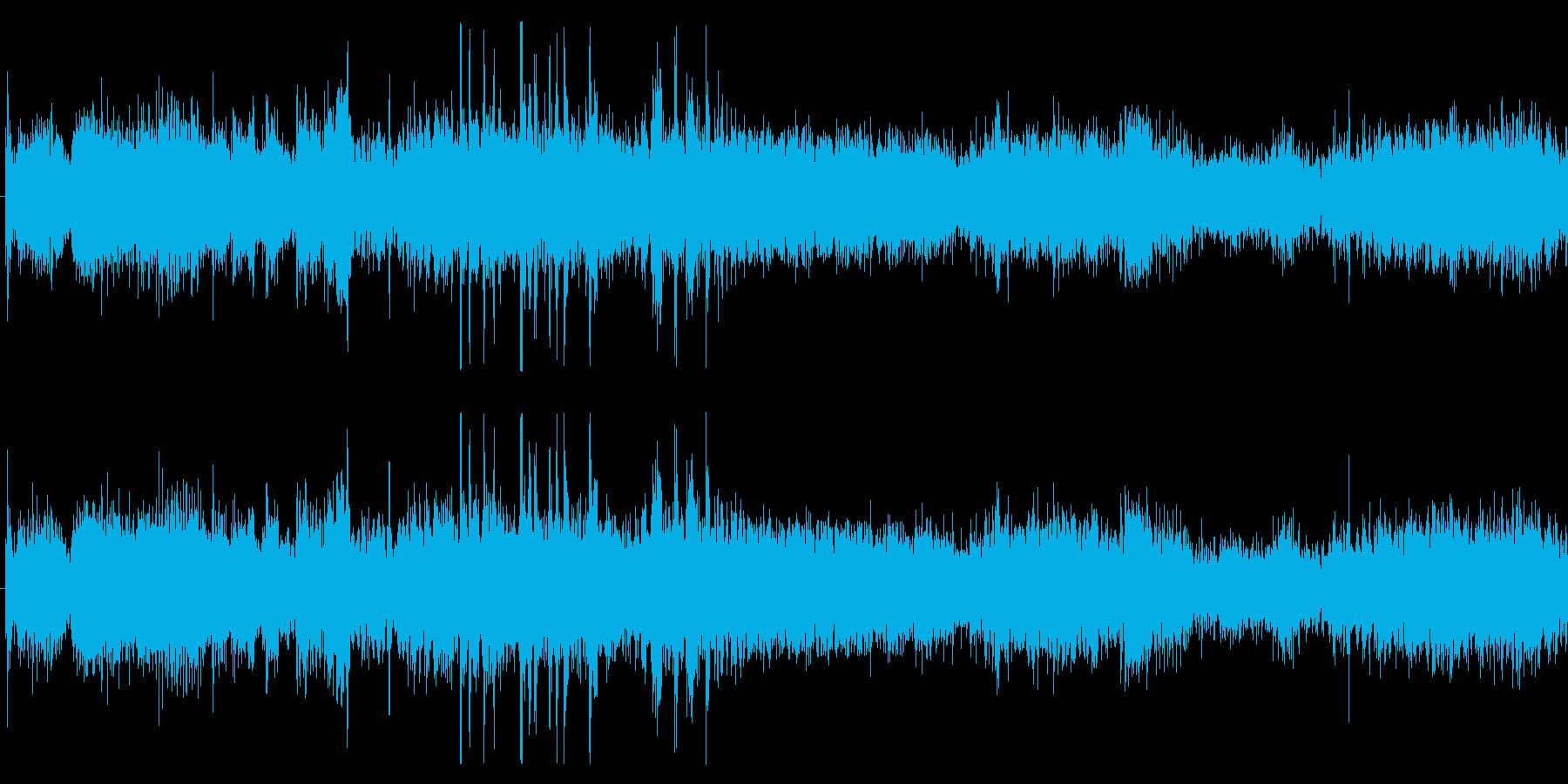 タンク 中程度の非定常損傷01の再生済みの波形
