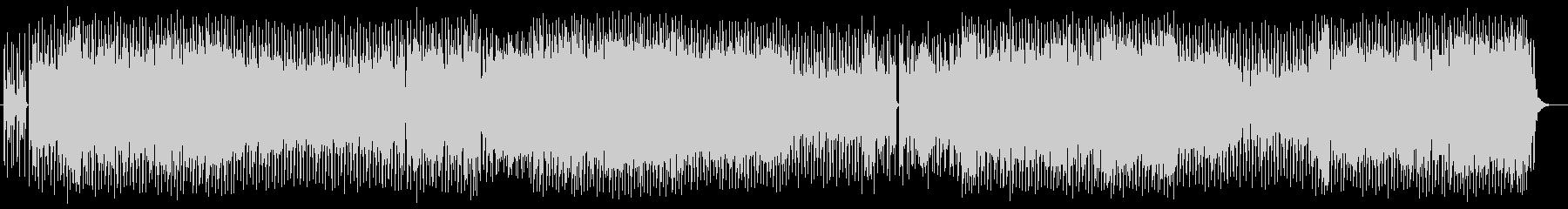 エッジ、浮遊感あるドラムンベースの曲の未再生の波形