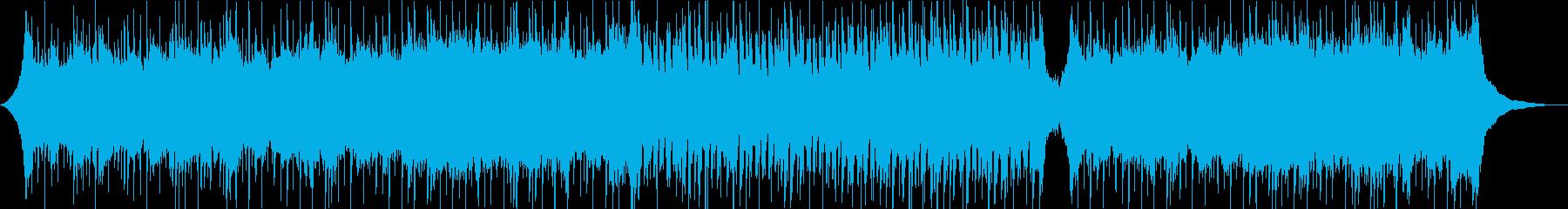 かけ出すような爽やかなストリングスポップの再生済みの波形