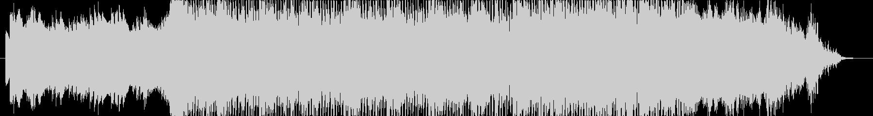 アンビエント・ポストロック 壮大なBGMの未再生の波形