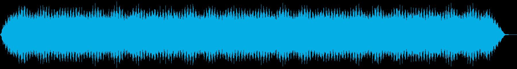 【アンビエント】ドローン_53 実験音の再生済みの波形