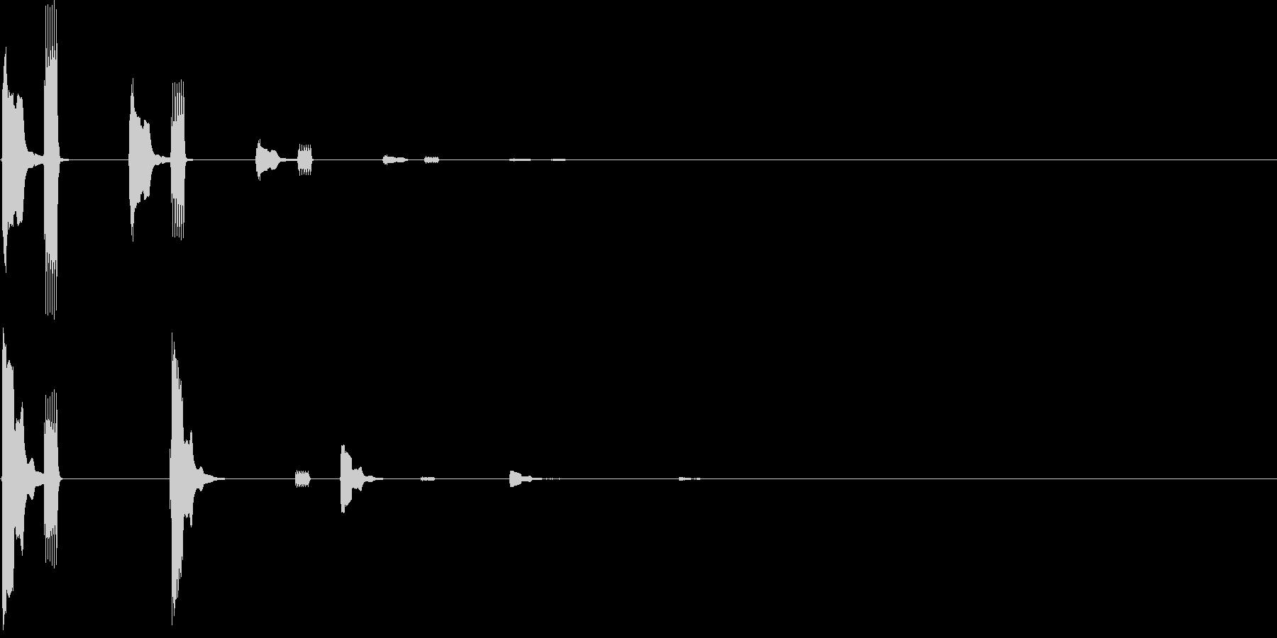 ピコッピコッコッピ…(トピック、テーマ)の未再生の波形