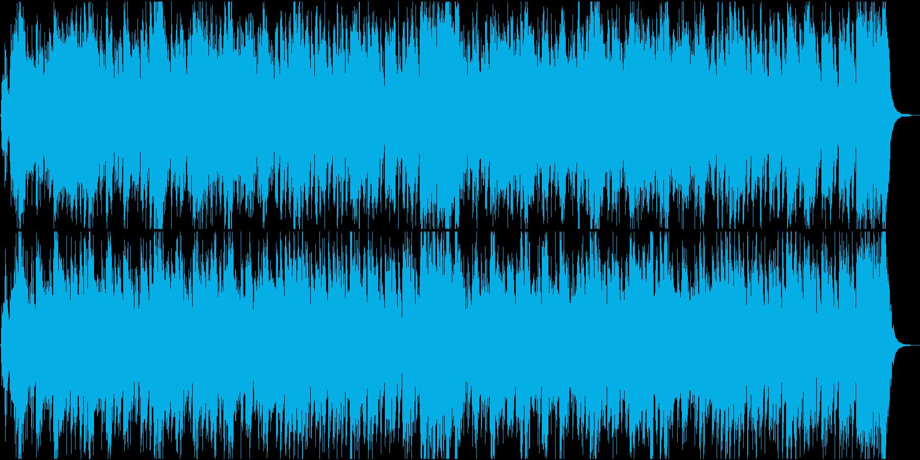 いざ対決!困難に立ち向かうBGMの再生済みの波形