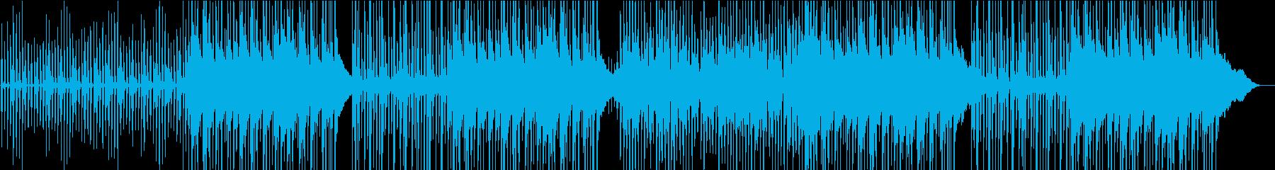 カッティングが気持ちいいカントリーの再生済みの波形