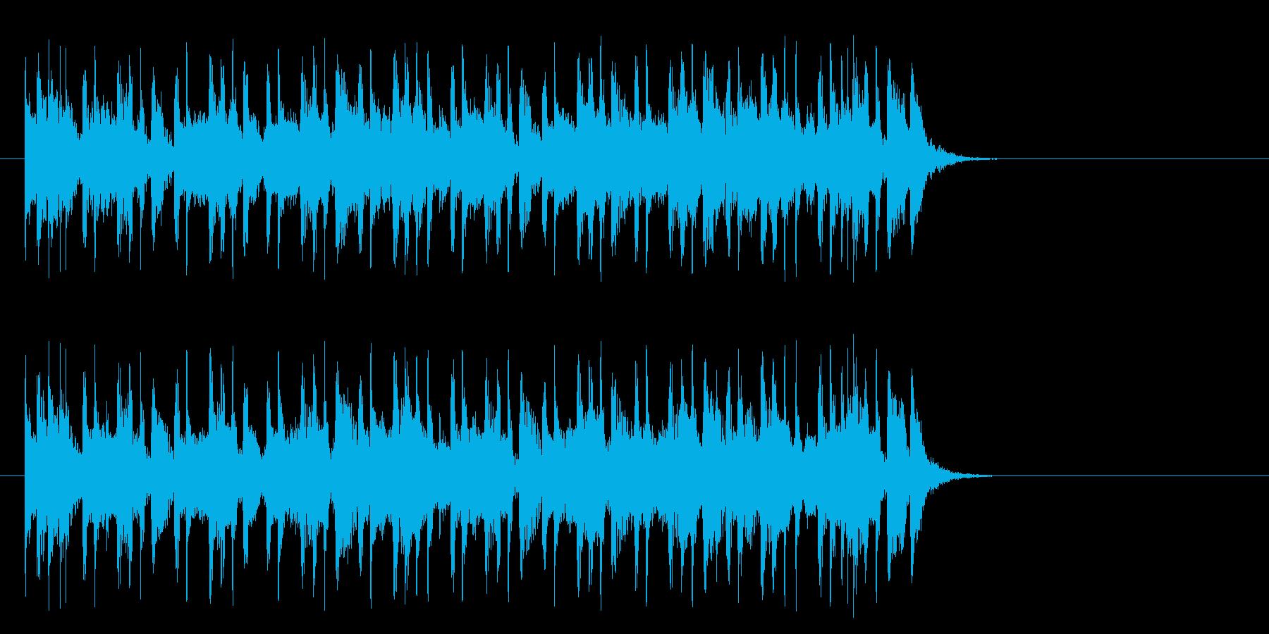 淡々としたポップ(Aメロ)の再生済みの波形