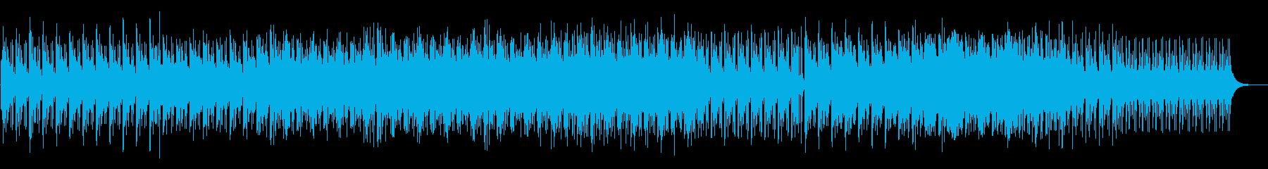 ファンタジックなシンセのアンビエントの再生済みの波形