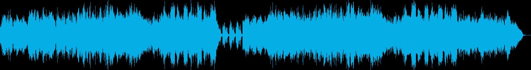 二胡・秋の色付く季節 ドラム無の再生済みの波形
