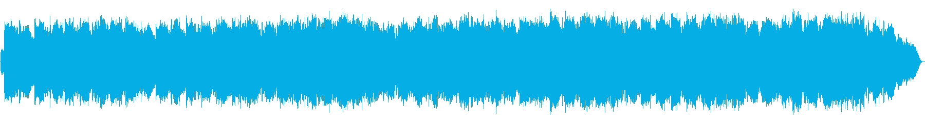 空高く響くような笛の高い音色の再生済みの波形