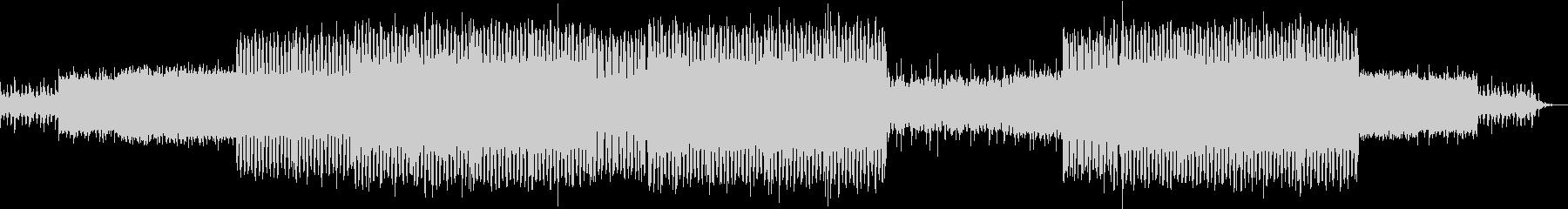 ギラギラしたシンセリードのEDMの未再生の波形