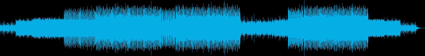 ギラギラしたシンセリードのEDMの再生済みの波形