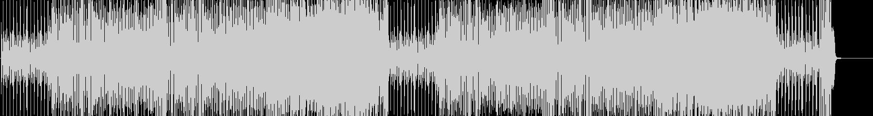 ハロウィン風エレクトロスウィングの未再生の波形