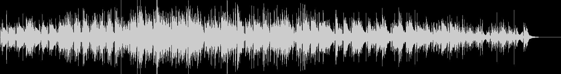 ノスタルジックなピアノインストの未再生の波形