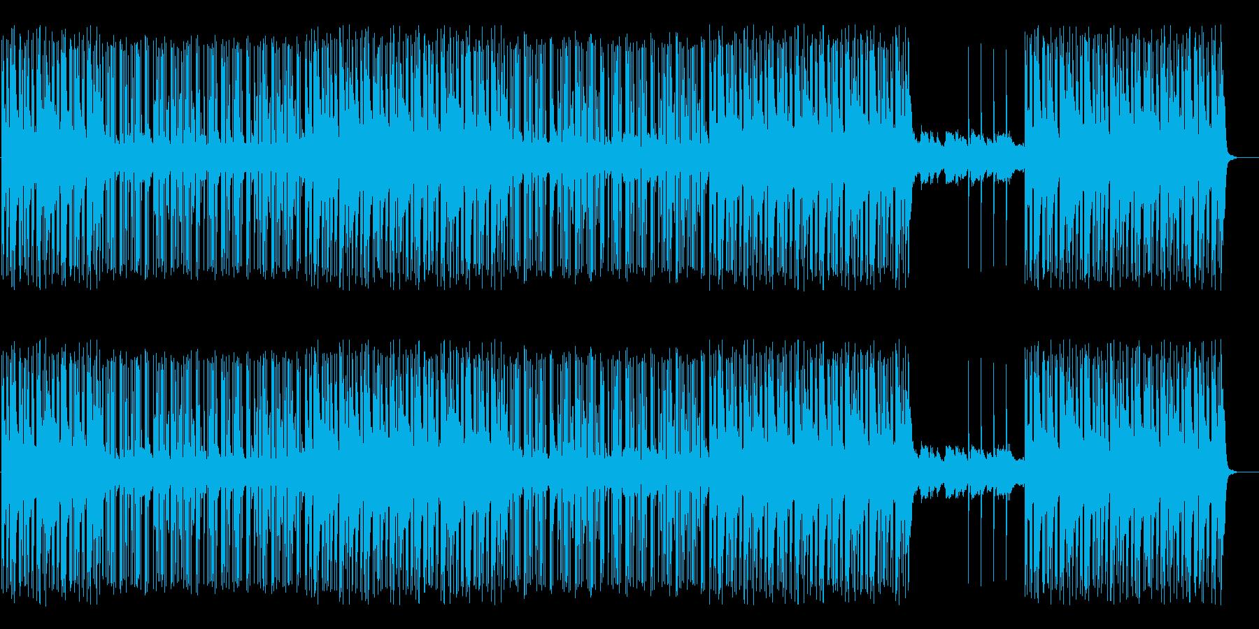 RPG/地下・洞窟・迷路/Beatの再生済みの波形