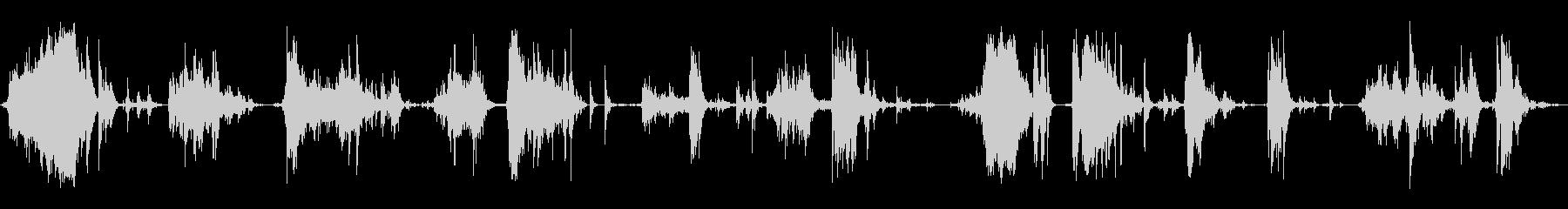 メタルデブリスクレープ5の未再生の波形