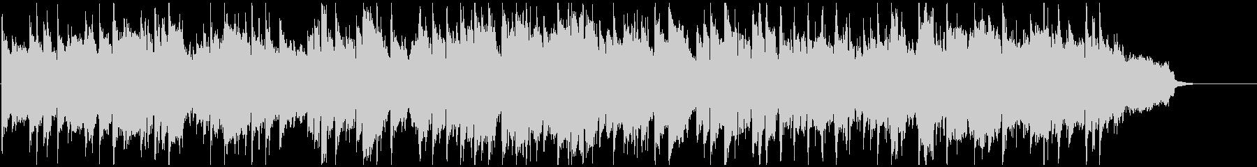 キラキラしたエピローグ的なリコーダー曲の未再生の波形