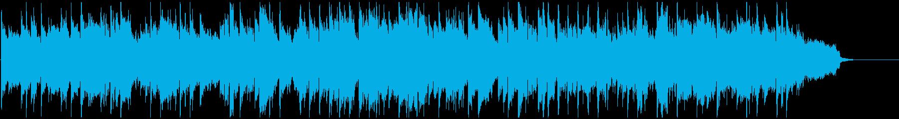 キラキラしたエピローグ的なリコーダー曲の再生済みの波形
