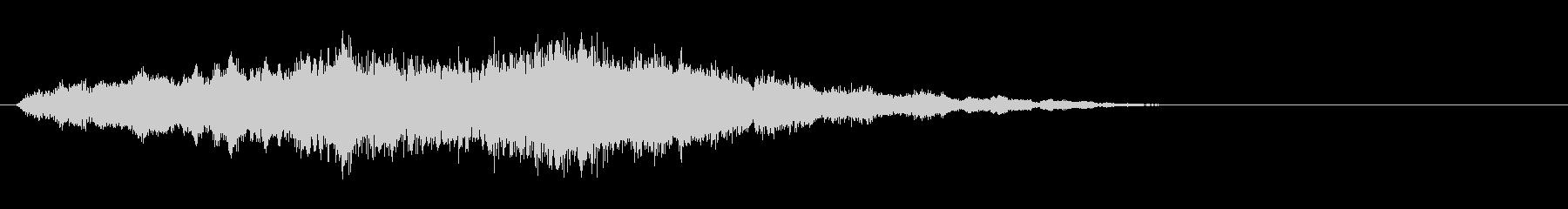 素材 ソフトハムドローンディープ03の未再生の波形