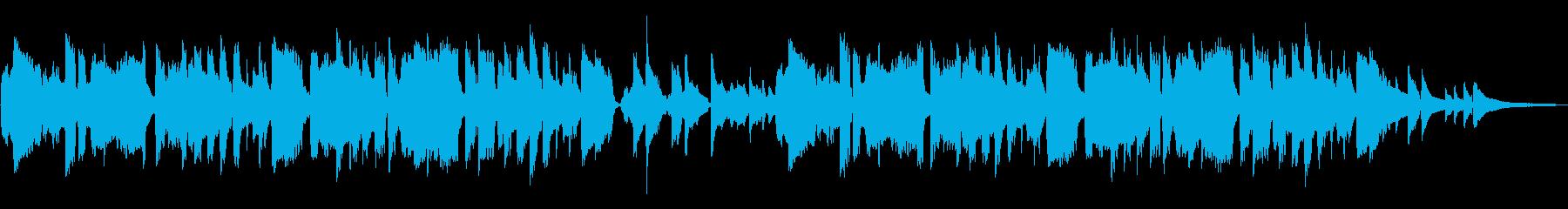 日本の童謡「赤とんぼ」感動と哀愁フルートの再生済みの波形