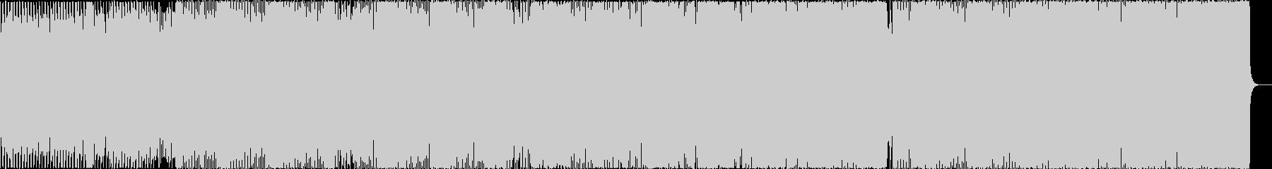 クールなEDM風ハウスをかっこいい映像にの未再生の波形