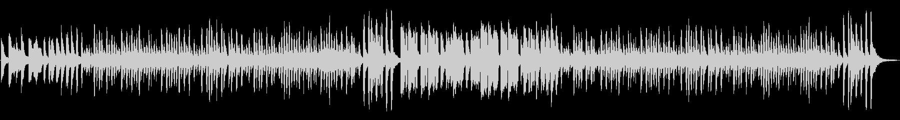 ほのぼの日常、コミカルでルンルンな曲Cの未再生の波形