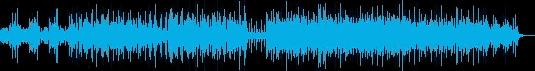 広告音楽。テレビのバックグラウンド...の再生済みの波形