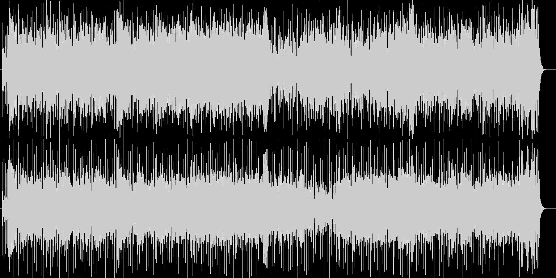 ドラムが爽快なアップテンポのポップスの未再生の波形