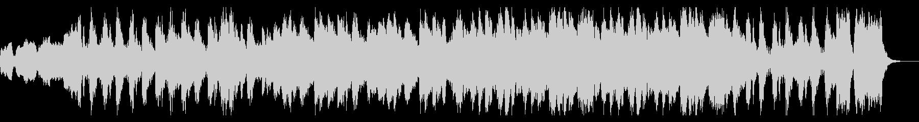クラシカルに展開繰り広げるゲーム音楽の未再生の波形