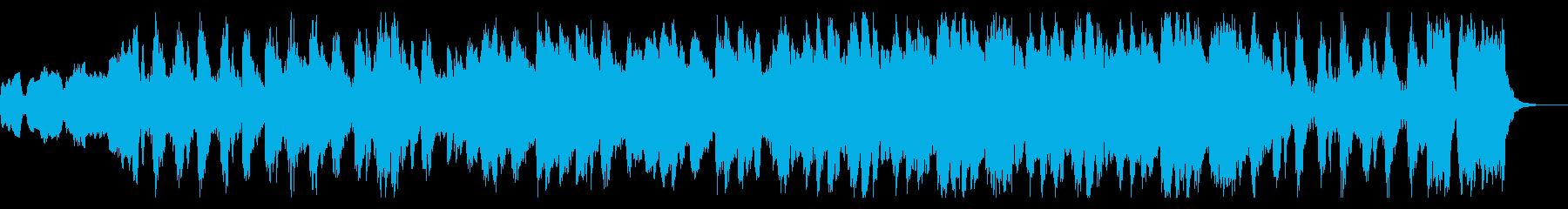 クラシカルに展開繰り広げるゲーム音楽の再生済みの波形