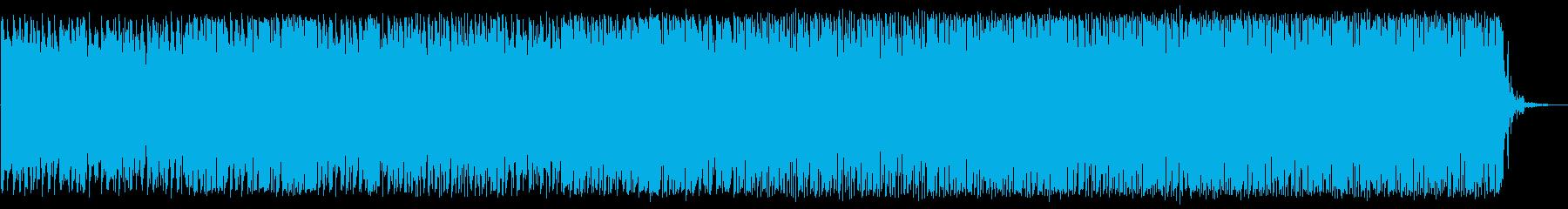 未来感ある オーケストラ+テクノの再生済みの波形