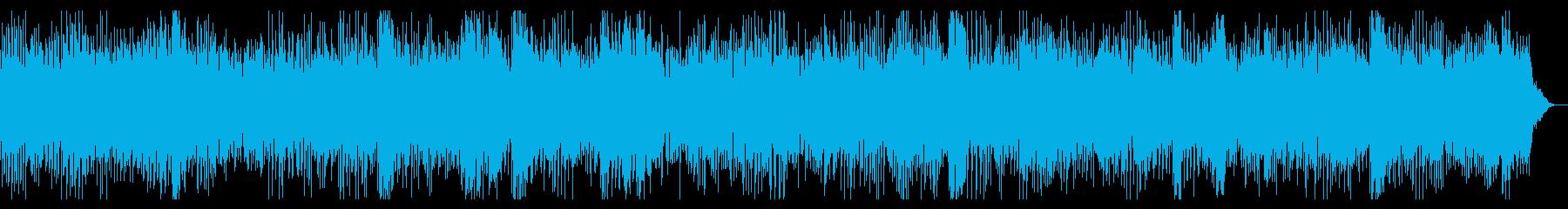 エネルギッシュなスポーツ向けピアノロックの再生済みの波形