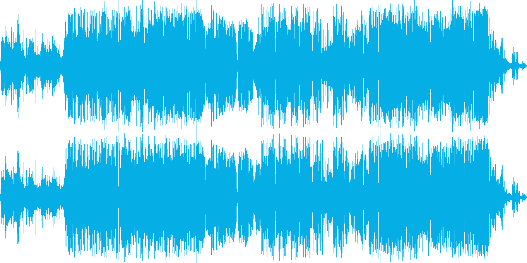 エレクトロニック 感情的 説明的 ...の再生済みの波形