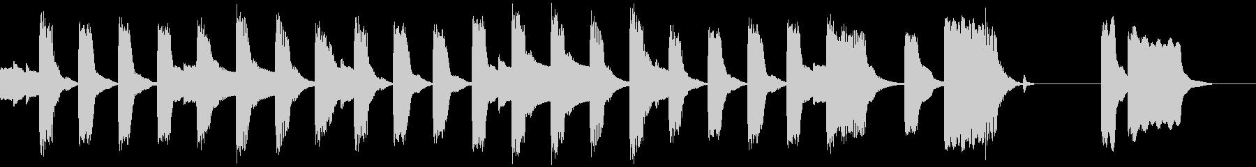 エレピのかわいいBGM(ループ仕様)の未再生の波形