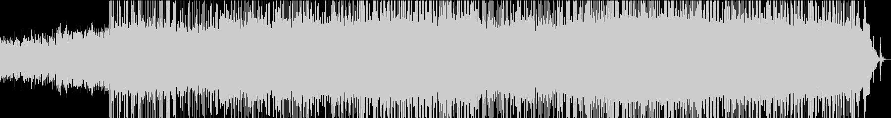 ミドルテンポのアコースティックなロックの未再生の波形