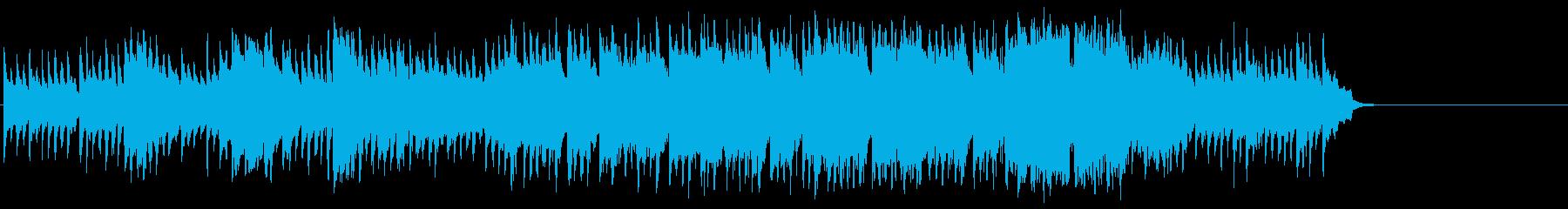 散歩する穏やかなポップス(イントロ~…)の再生済みの波形