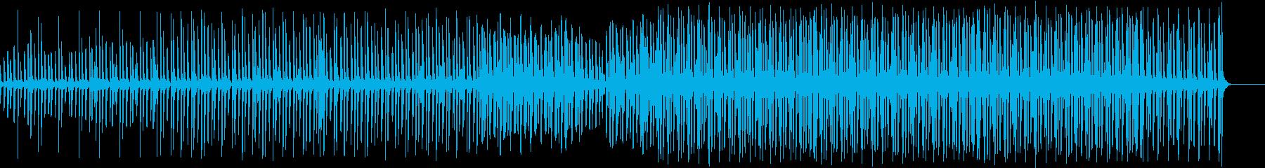 クール・怪しい感じのHipHop系ソングの再生済みの波形