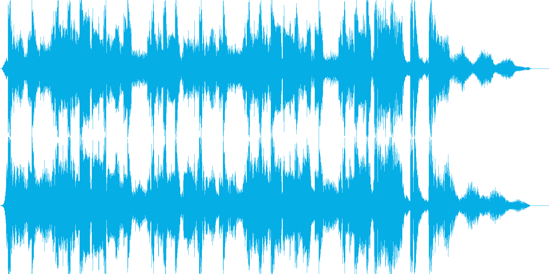 おしゃれな15秒CM楽曲。の再生済みの波形