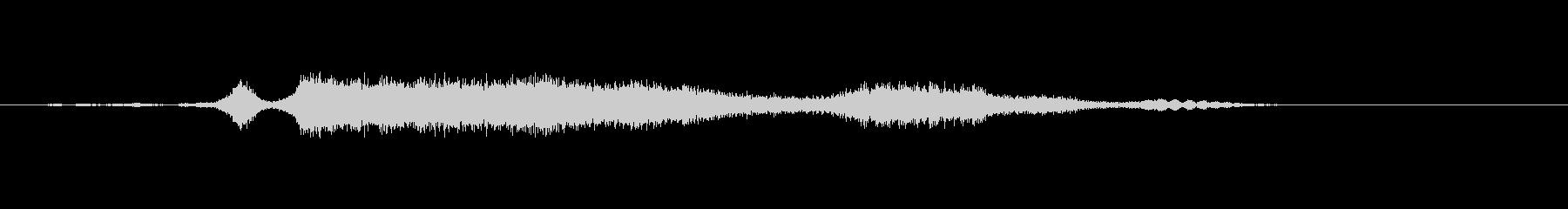 メタル スクレープリッチ03の未再生の波形