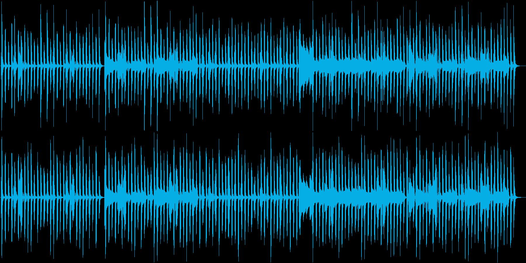 コミカルな要素を含んだ日常BGMですの再生済みの波形