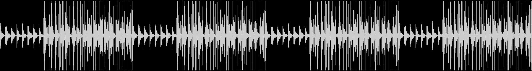 最先端なシンプルトラップの未再生の波形