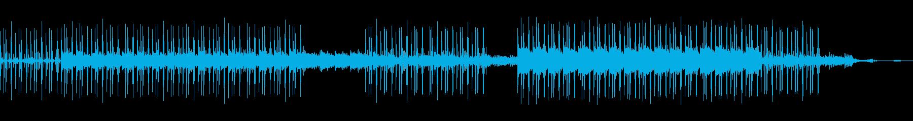 沖縄 海の音とオシャレなLofiビートの再生済みの波形