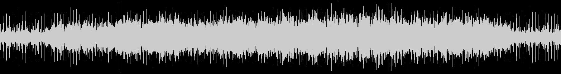 レトロ・パズルゲーム電子系ループBGMの未再生の波形