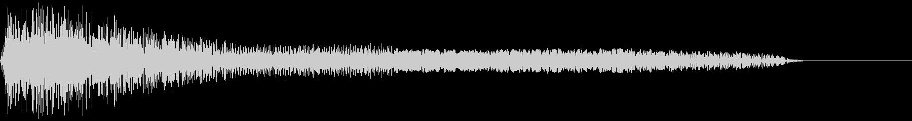 パイーン(ファミコン/攻撃/変な音の未再生の波形